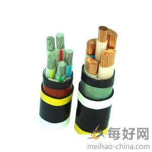 铜芯导体聚氯乙烯绝缘及聚氯乙烯护套电力电缆(VV;0.66/1kV;3×2.5+1×1.5mm2)