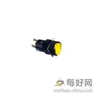 XB6EAF塑料系列一体式圆形自锁定带灯按钮(施耐德;XB6;XB6-EAF5B1C;黄)